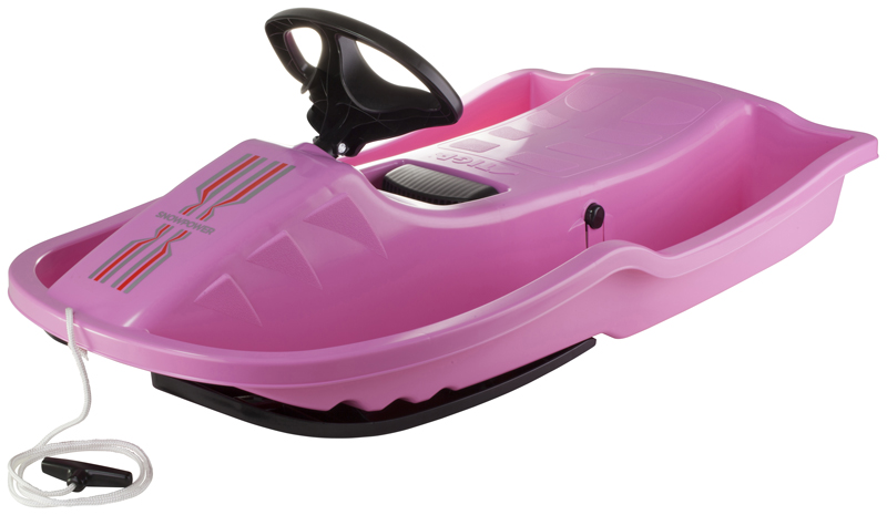 Skiboby Stiga Snowpower Brake Pink