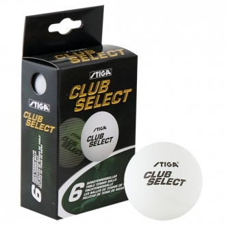 Stiga Club Select, 6-pack White